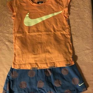 Skort Set Girls Sz5/6